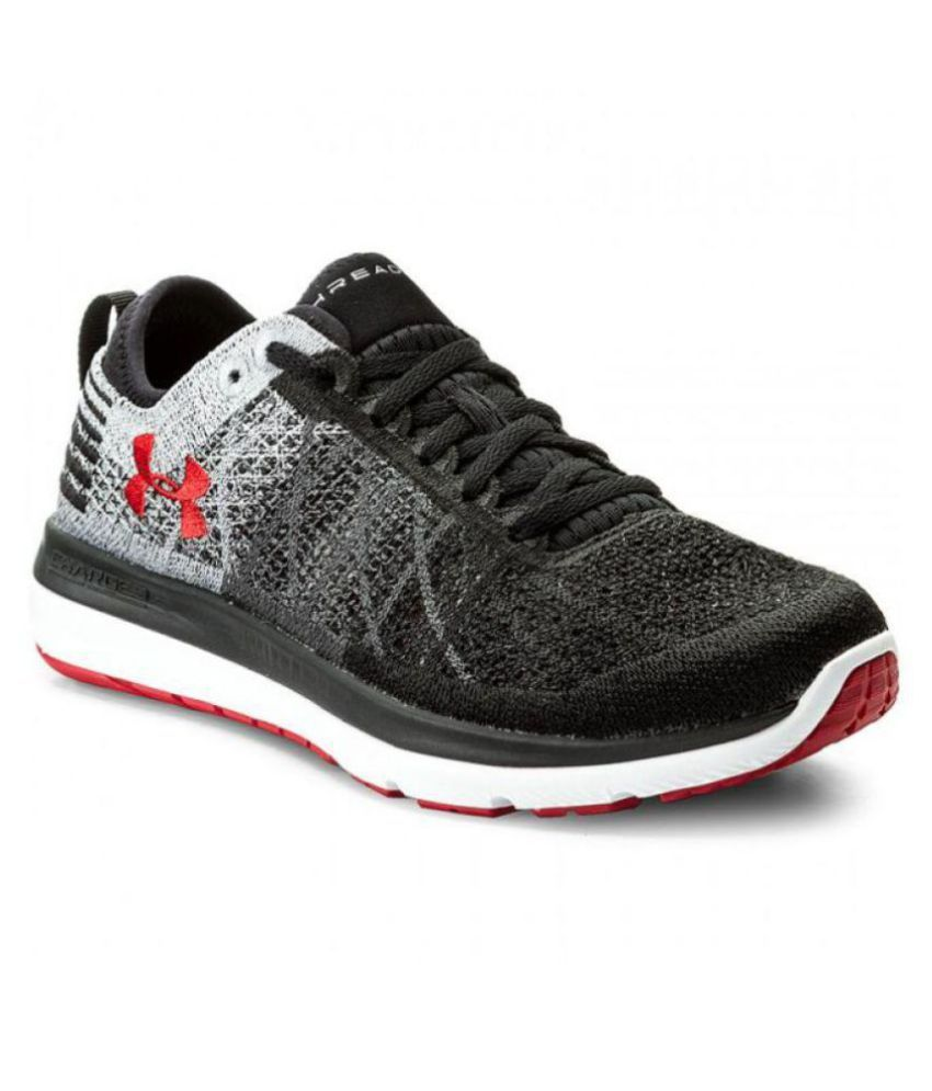 separation shoes b9421 662e3 Under Armour Black Running Shoes