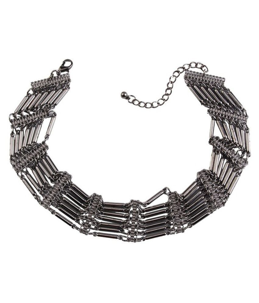 Kamalife New Brand Vintage Maxi Metal Statement Collier Femme Choker Short Collar Necklace Online Shopping India