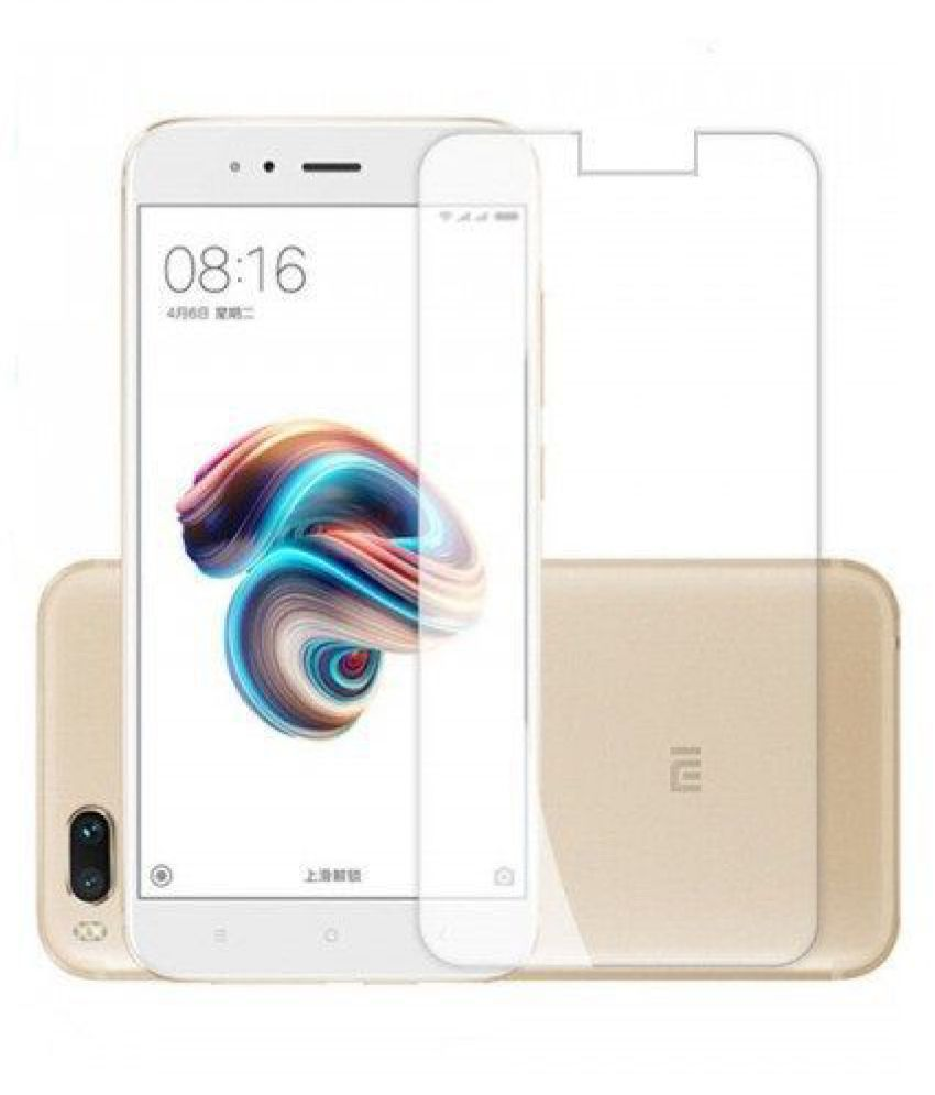 Mi A1 Tempered Glass Screen Guard By ABS & ABC