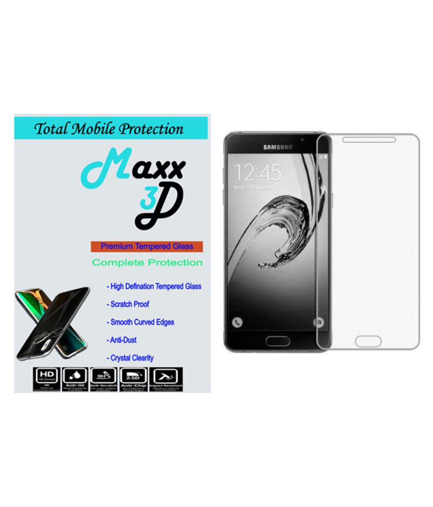 Samsung Galaxy J7 Max Tempered Glass Screen Guard By MAXX3D