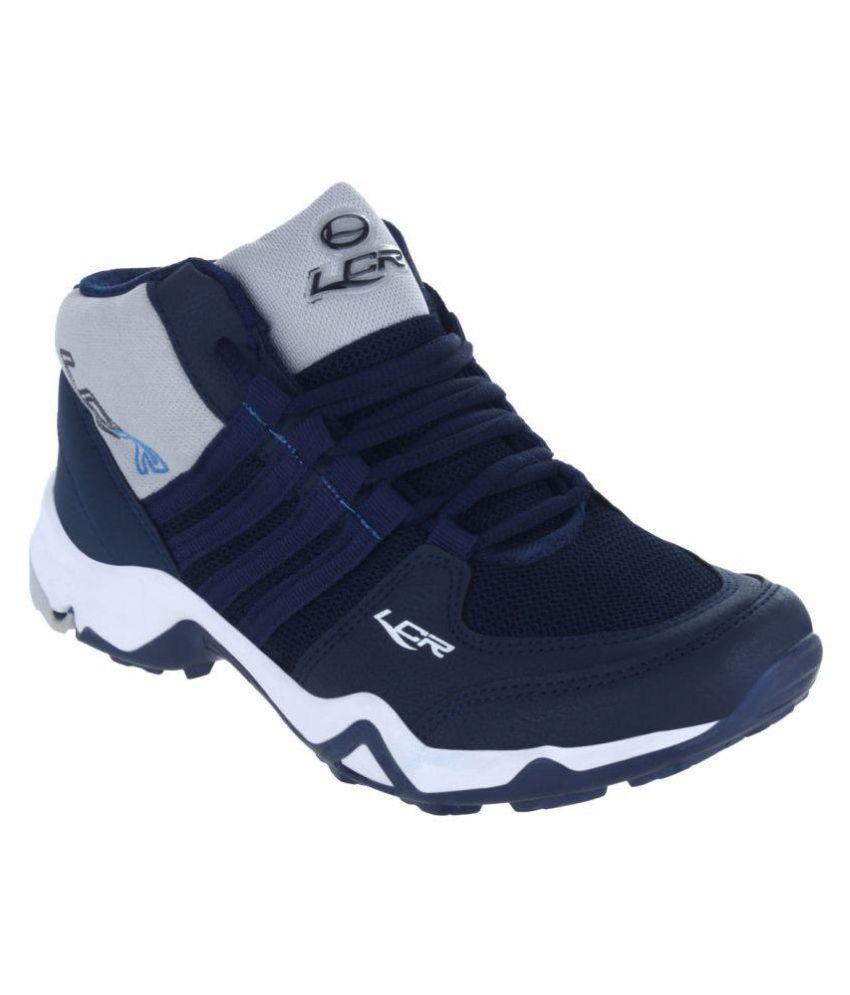 Lancer CUBA-214NBL-LGR Blue Running Shoes