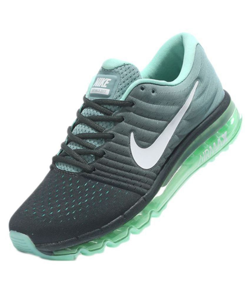 competitive price 7d434 08ec0 czech nike airmax 2017 all colour green running shoes 7581e 55510