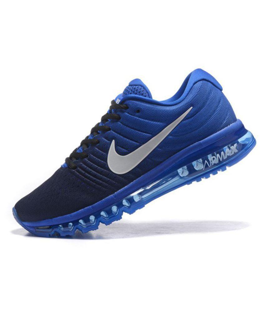 the best attitude d1a73 62258 ... shop nike airmax 2017 blue running shoes nike airmax 2017 blue running  shoes 5096a 75617