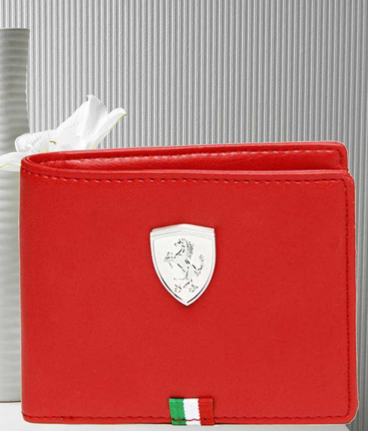 e062018c35 Puma F1 Leather Red Casual Regular Wallet: Buy Online at Low Price in India  - Snapdeal
