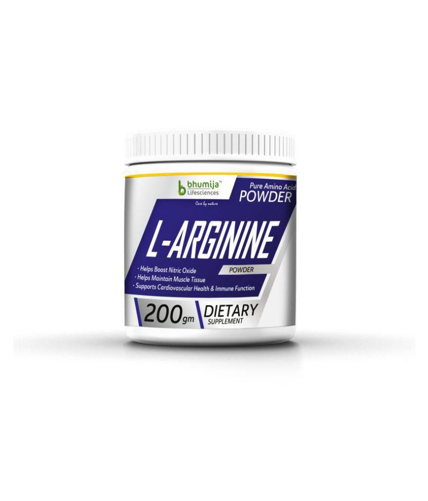 BHUMIJA LIFESCIENCES L-Arginine Pre Workout (Amino Acid) Powder Energy Drink for Adult 200 gm
