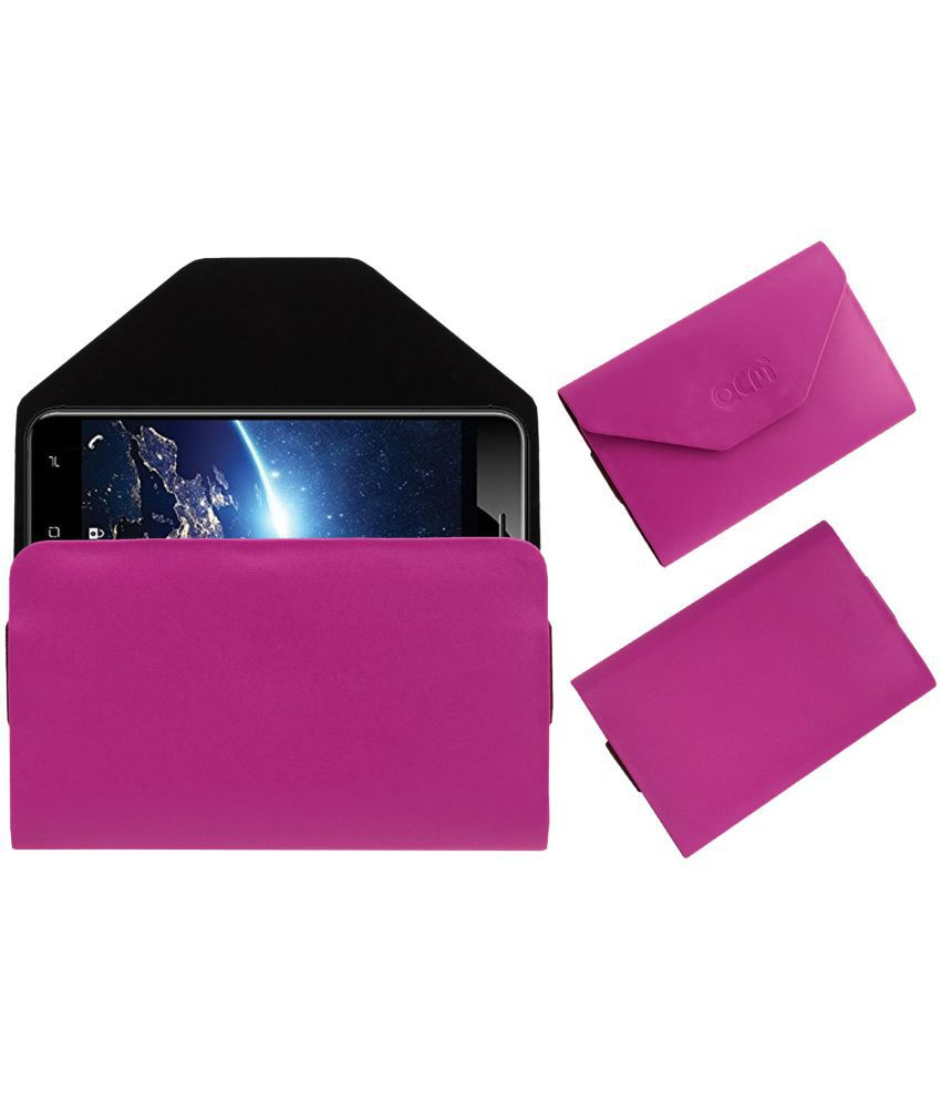 Indie 15 Holster Cover by ACM - Pink Flip Flap Case