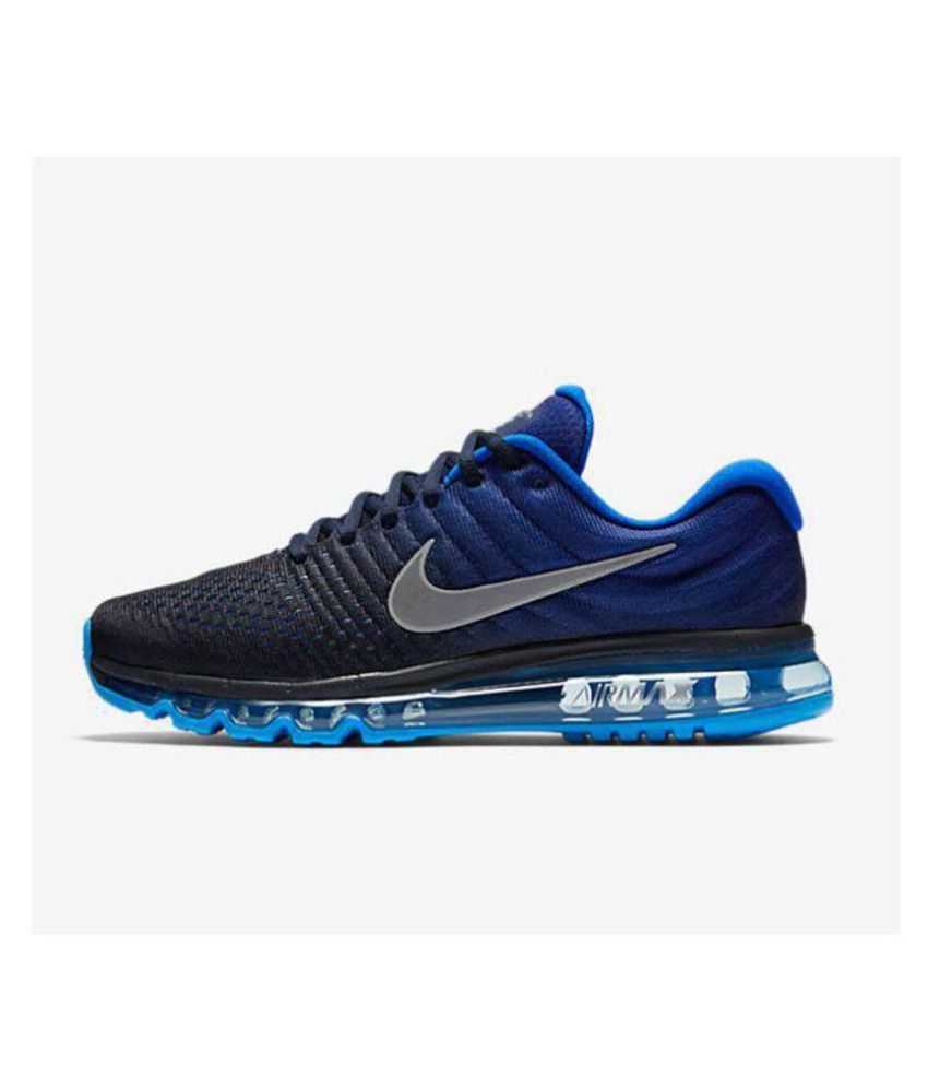 sneakers for cheap 864c9 e5612 ... Nike AIRMAX 2017 Blue Running Shoes