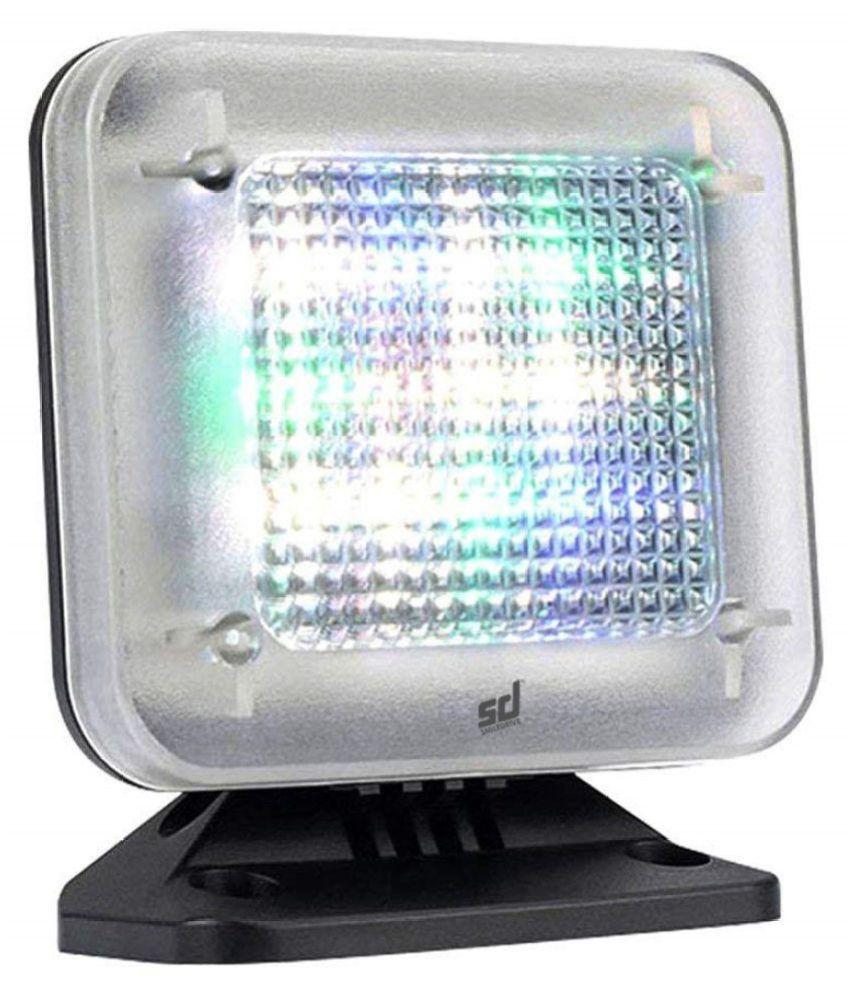 Smiledrive® Fake Tv Simulator Home Security Television Light Burglar Intruder Thief Deterrent Crime Prevention Device