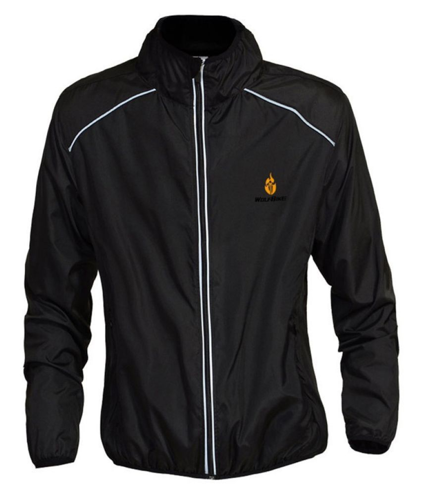 Changing Destiny Polyester Short Rainwear - Black
