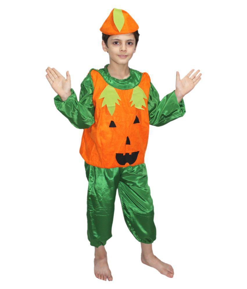 30c5e026ce01 Kaku Fancy Dresses Pumpkin fancy dress for kids,Vegetables Costume for  School Annual function/Theme Party/Competition/Stage Shows Dress - Buy Kaku  Fancy ...