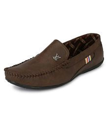 ZAPATOES Brown Loafers