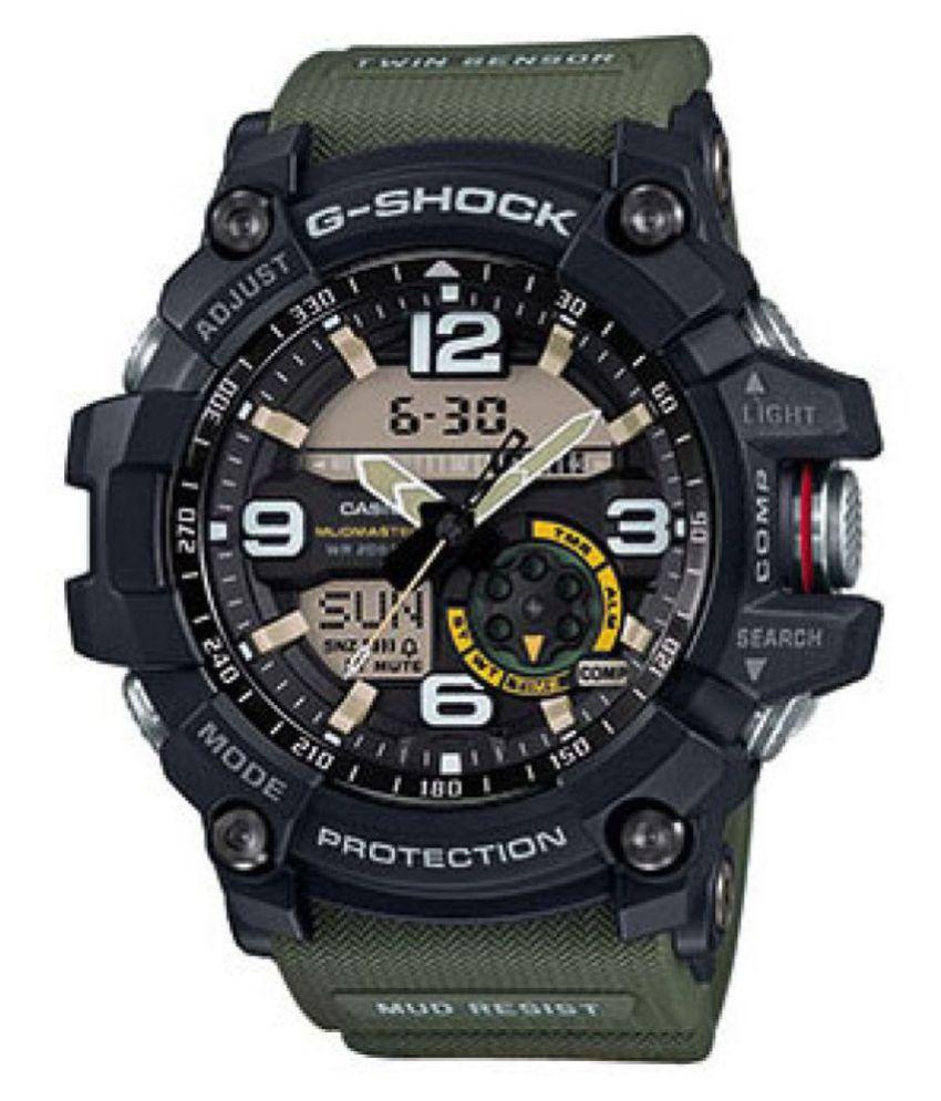 b5dfc1bb2 Men Fashion MUD MASTER GG-1000-1A5DR (G661) Resin Analog-Digital Watch - Buy  Men Fashion MUD MASTER GG-1000-1A5DR (G661) Resin Analog-Digital Watch  Online ...