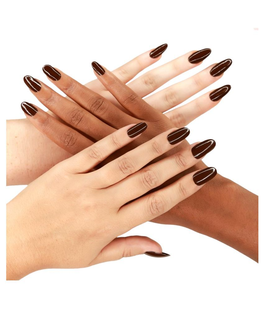 SPERO VOV Nail Polish Dark Brown Matte 6Gram gm