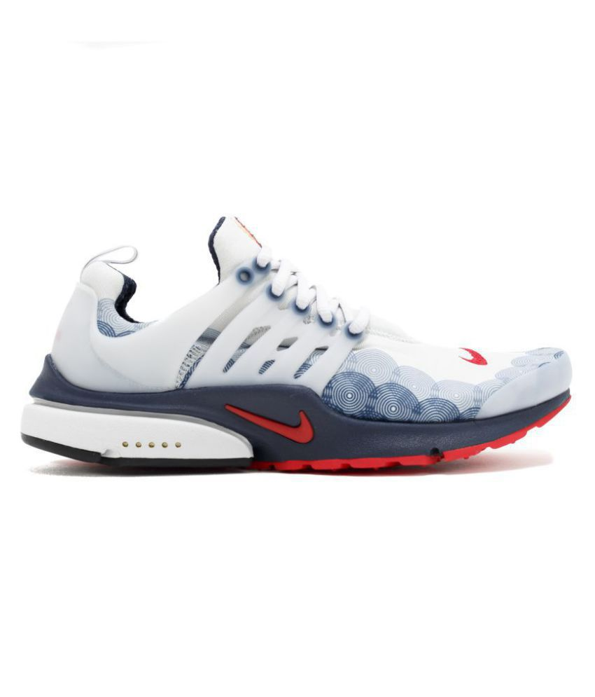 53543a219640 Nike Air Presto Olympic USA White Running Shoes - Buy Nike Air Presto  Olympic USA White Running Shoes Online at Best Prices in India on Snapdeal