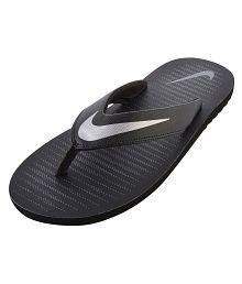 Nike Chroma 5 Black Thong Flip Flop