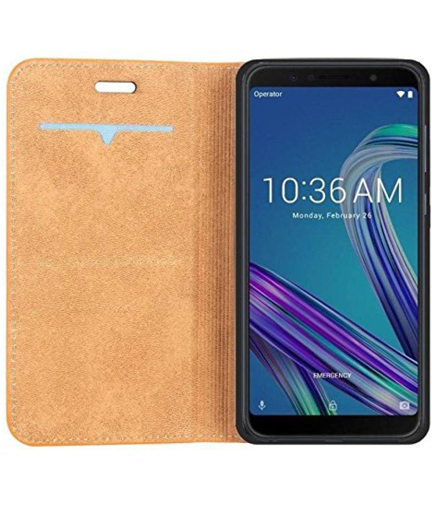 los angeles c22a4 a1387 Asus Zenfone Max Pro M1 Flip Cover by Mascot Max - Brown