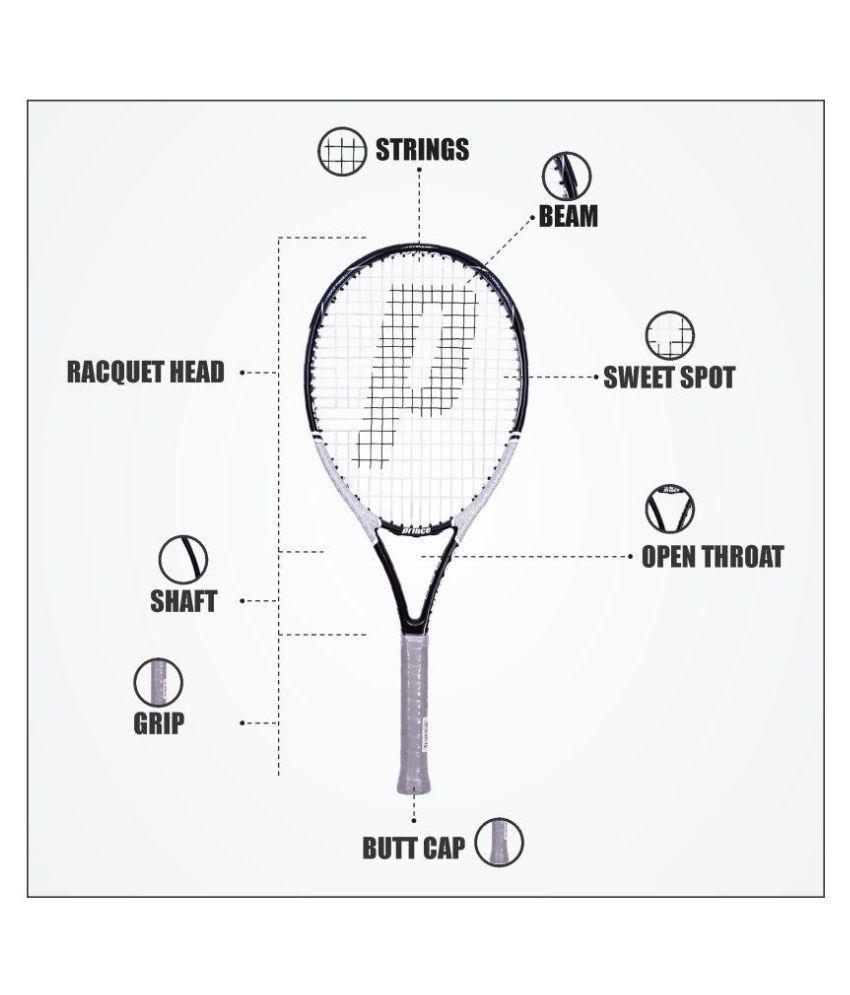 Prince ForceTi 7T27S295 Tennis Racquet Black