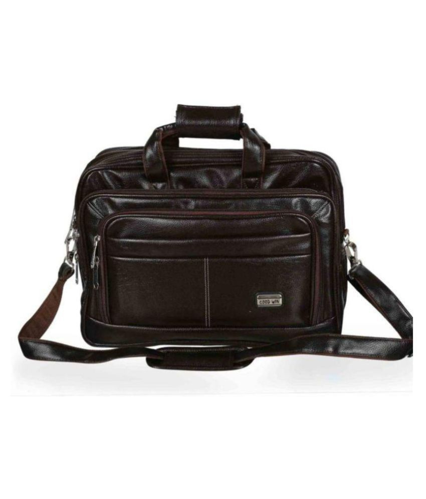 af3f139b7a Goodwin Brown Leather Office Bag Cross Bag Leather Bag Men Man Side Bag  Gents Bag Men Side Bag One Side Bag Men Carry Bag Men - Buy Goodwin Brown  Leather ...