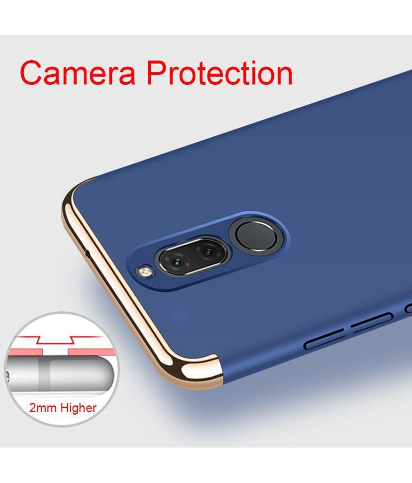 wholesale dealer 50c3e c259c Huawei Mate 10 Lite Plain Cases COVERNEW - Blue