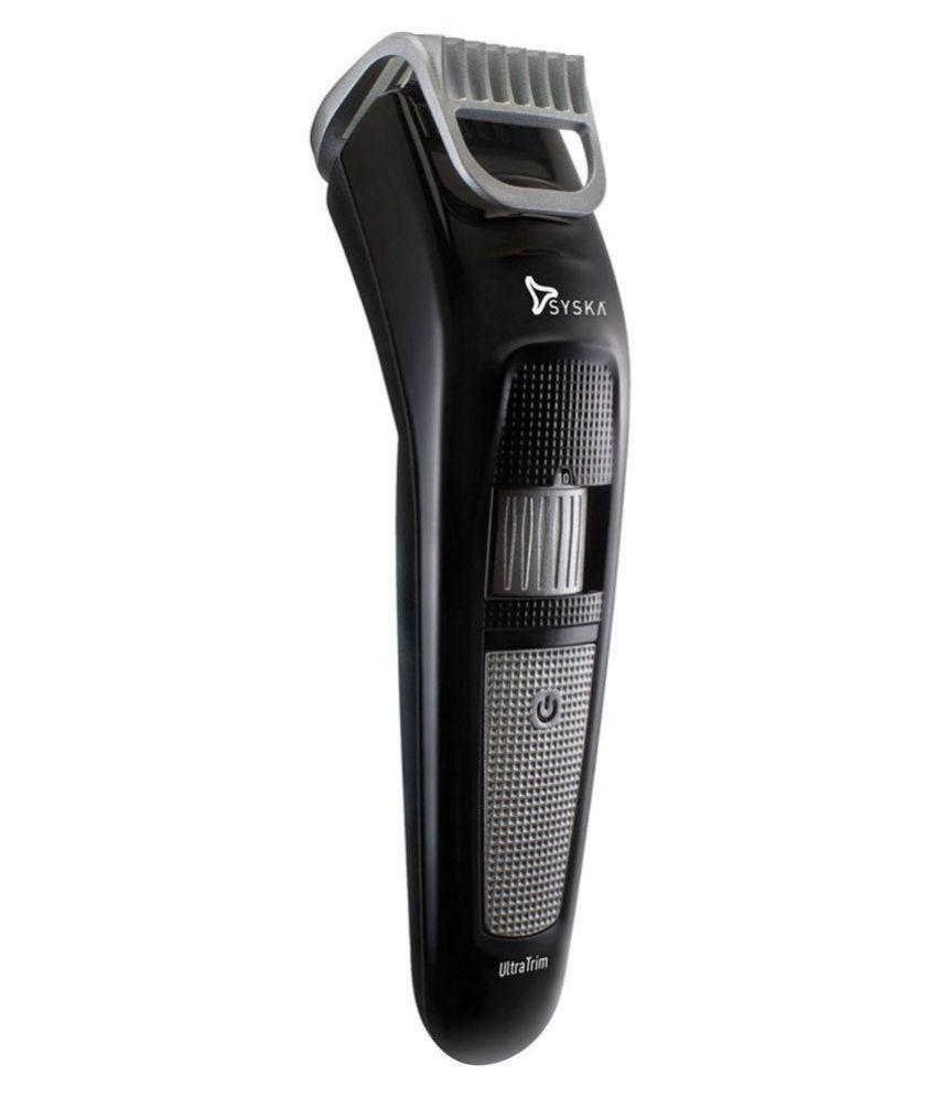 Syska HT100 Beard Trimmer   Black