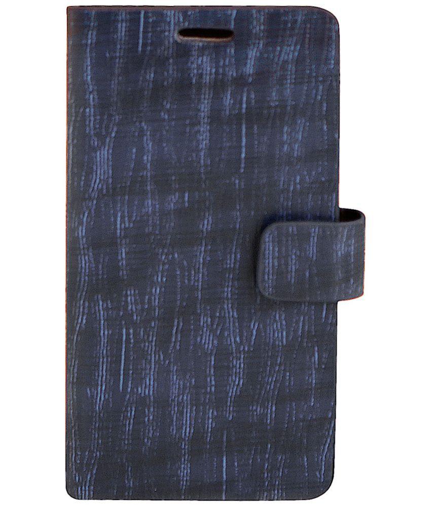 Karbonn Titanium S9 Flip Cover by Zocardo - Blue