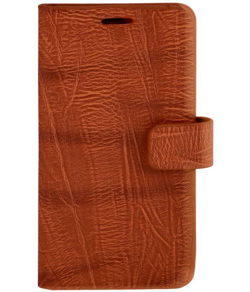 Meizu M6 Note Flip Cover by Zocardo - Brown