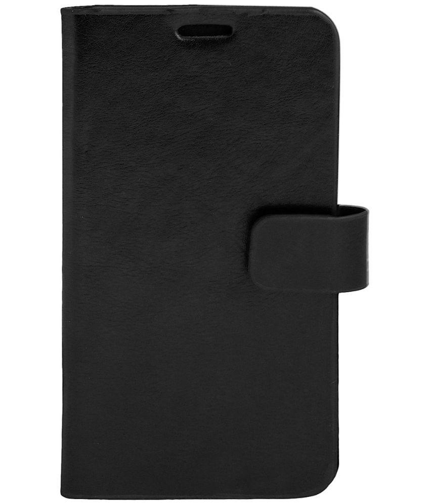 Micromax Canvas Knight 2 E471 Flip Cover by Zocardo - Black