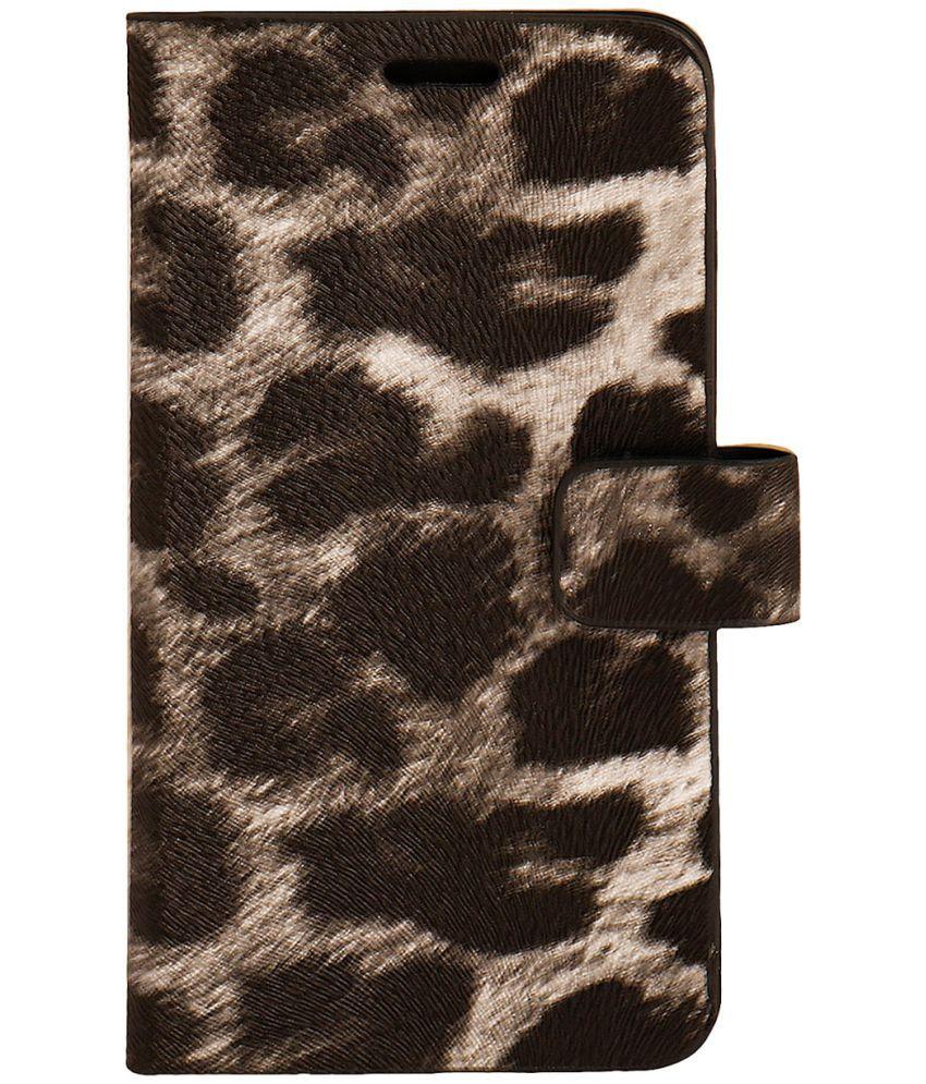 Micromax YU Yuphoria Flip Cover by Zocardo - Black