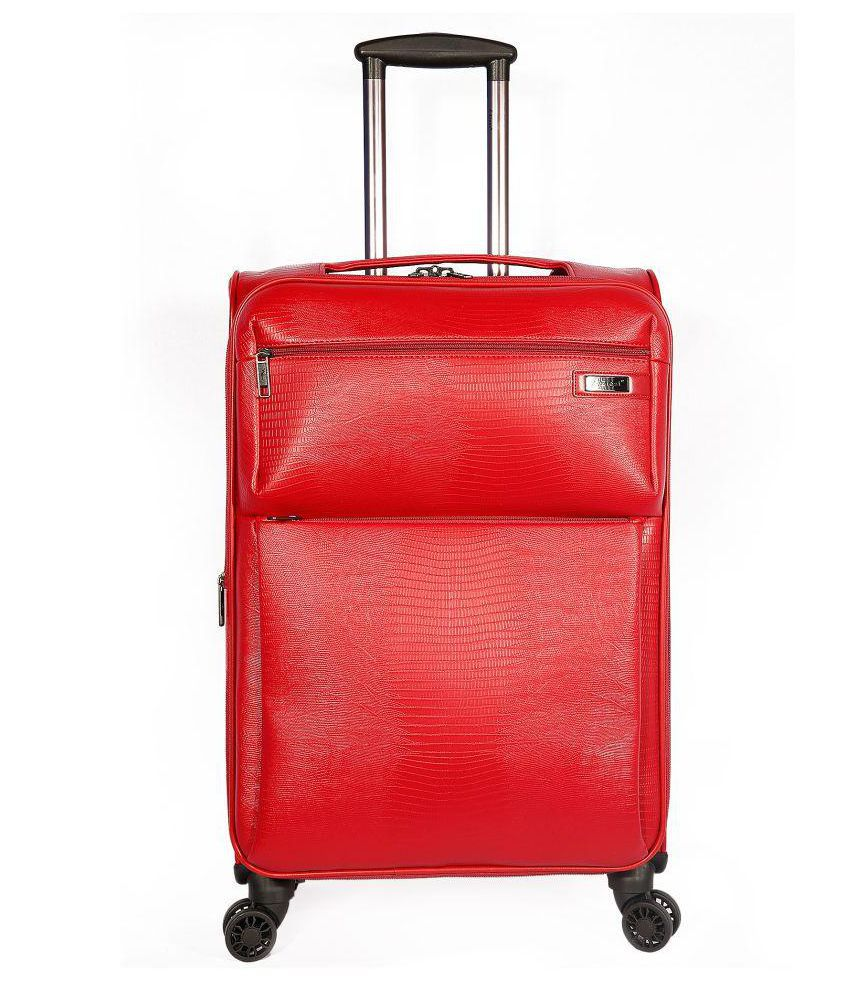 ZIEST Red M  Between 61cm 69cm  Check in Soft 135 24T Luggage