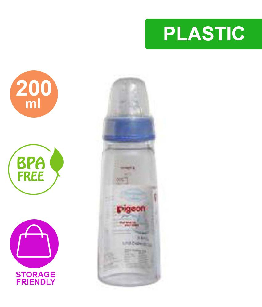 37016b0d113 Pigeon Standard Neck 200 ml PP Bottle(white cap)  Buy Pigeon Standard Neck  200 ml PP Bottle(white cap) at Best Prices in India - Snapdeal
