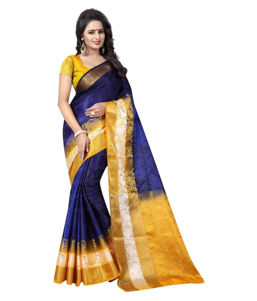 Concepta Multicoloured Cotton Silk Saree