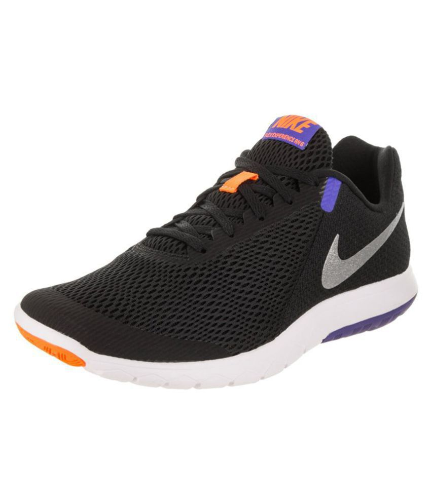 0990767966d Nike FLEX EXPERIENCE RN 6 Black Running Shoes - Buy Nike FLEX EXPERIENCE RN  6 Black Running Shoes Online at Best Prices in India on Snapdeal