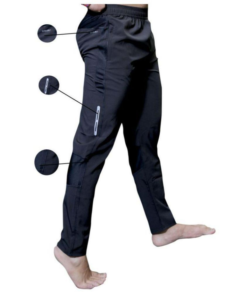 44d7482ea26 Navy Polyester Lycra Trackpants - Buy Navy Polyester Lycra Trackpants Online  at Low Price in India - Snapdeal