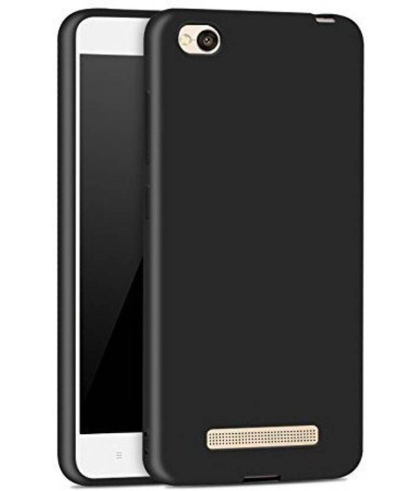 Redmi 5A Plain Cases Furious3D - Black Scratch Resistant