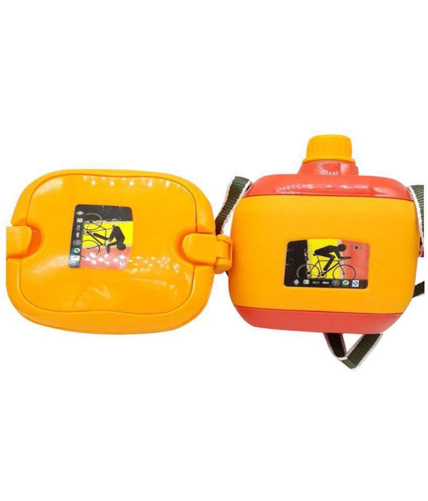 banesco Multicolour Polypropylene (PP) Lunch Box