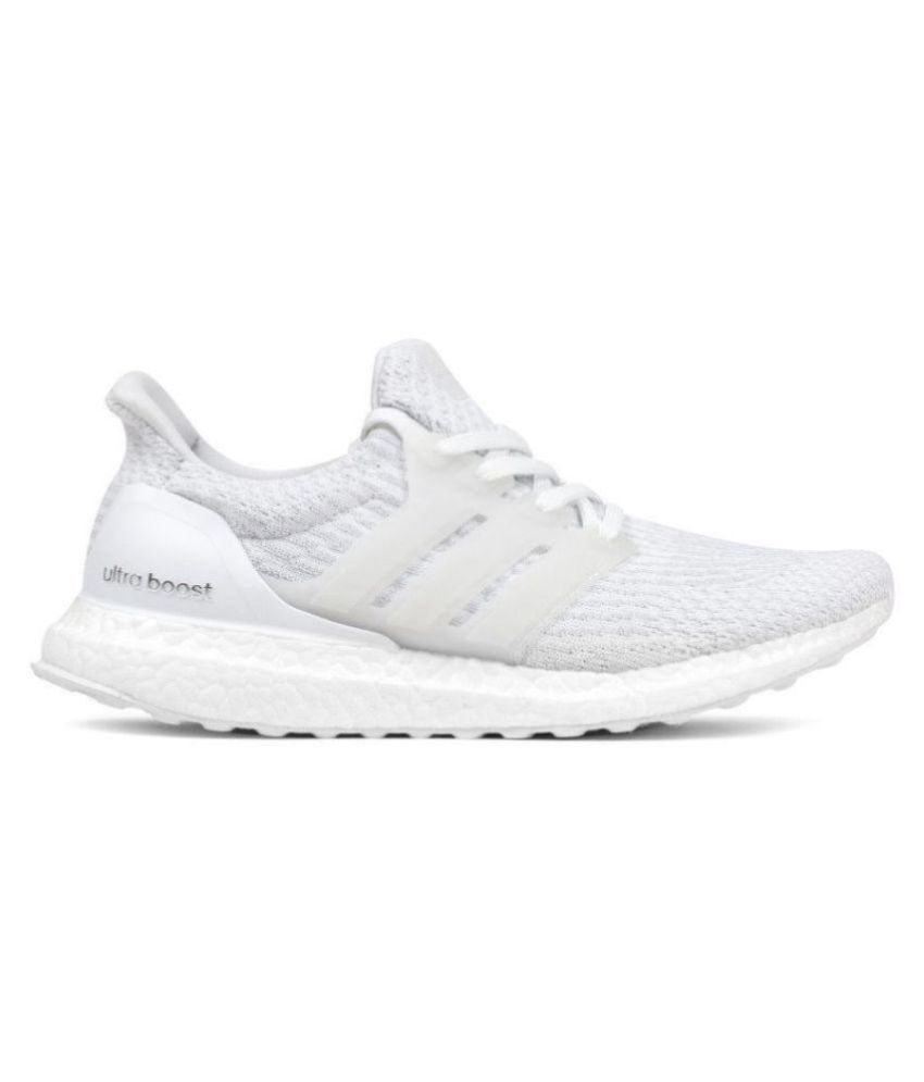 79b422baf6a Adidas ultraboost White Running Shoes - Buy Adidas ultraboost White Running  Shoes Online at Best Prices in India on Snapdeal