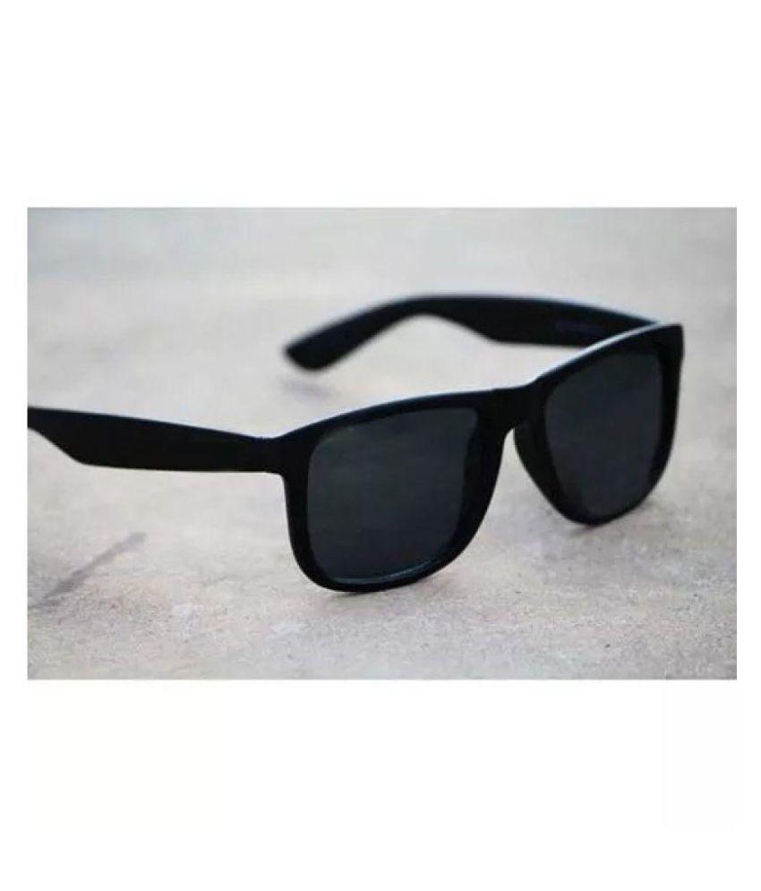 Rayban Stylish Sunglasses Black Wayfarer Sunglasses ( BLKWAY )