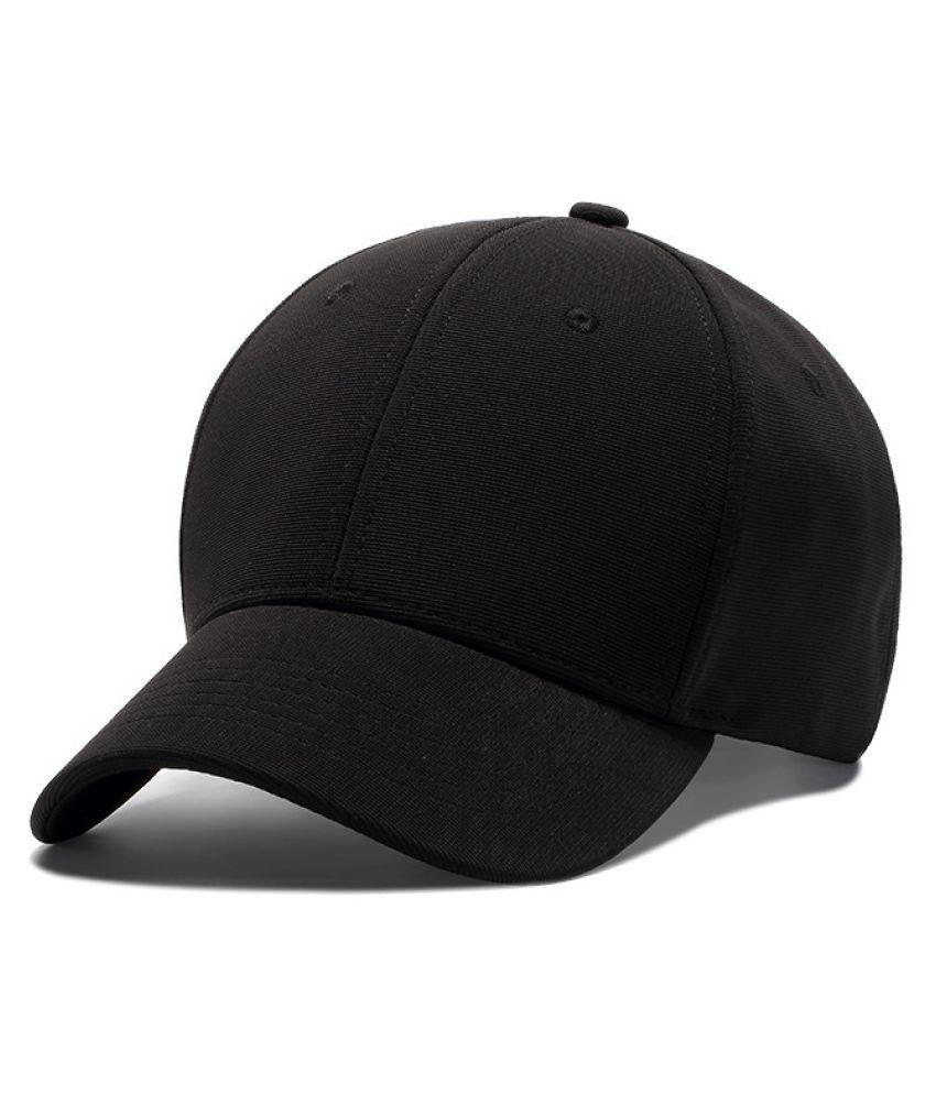 Kamalife Black Embroidered Fabric Hats