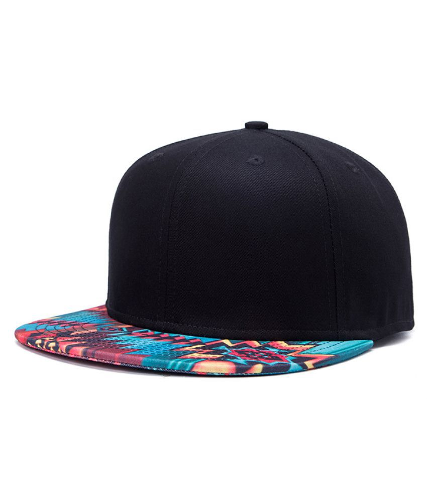Kamalife Green Floral Polyester Hats