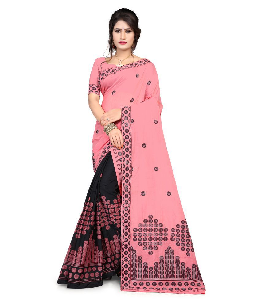 S. Kiran's Multicoloured Chanderi Saree