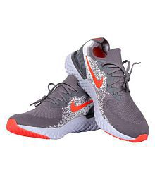 Nike EPIC REACT Grey Running Shoes