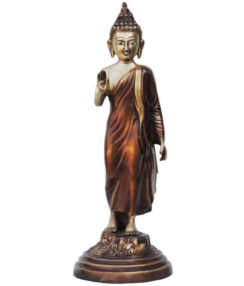 Brass Gift Center Buddha Brass Idol