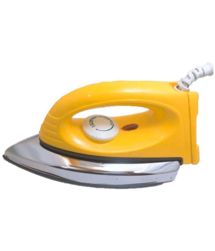 Dolphin Scooty Dry Iron Yellow