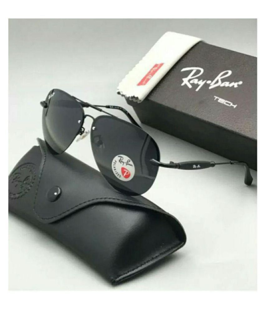 2b5537ac4a Rayban 3517 Black Aviator Sunglasses ( BLKBLK3517 ) - Buy Rayban 3517 Black  Aviator Sunglasses ( BLKBLK3517 ) Online at Low Price - Snapdeal