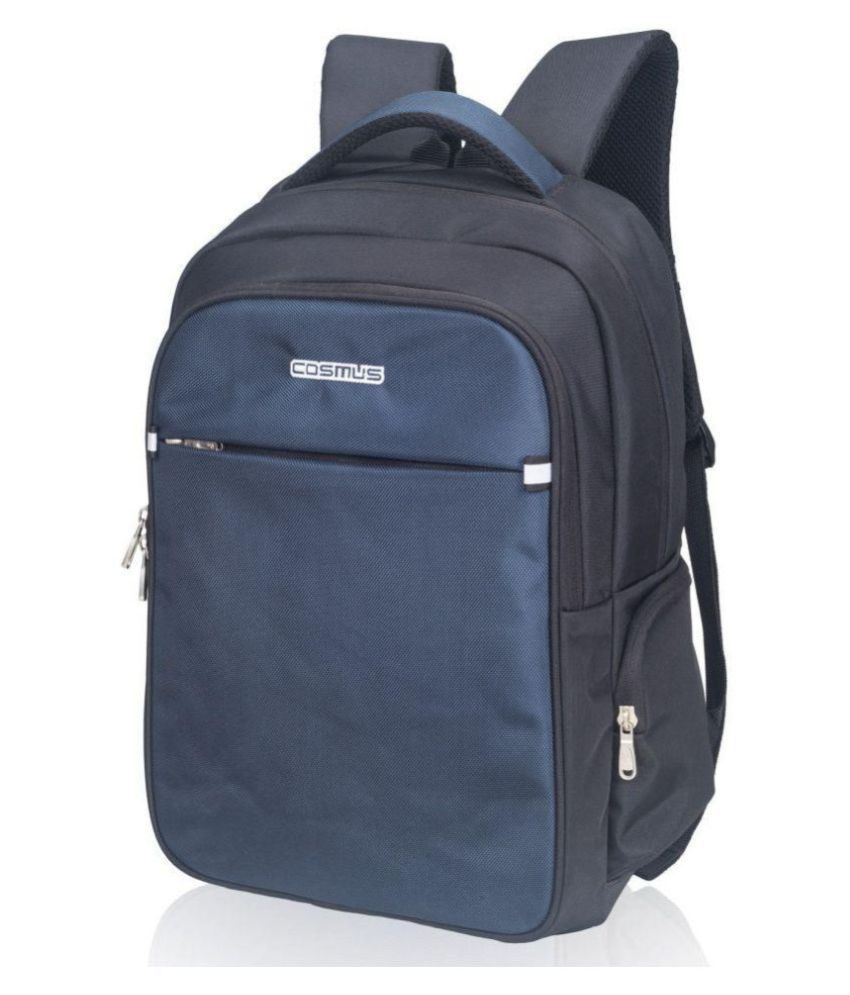 ... Sturdy Durable Laptop Backpack for 15.6 inches Laptop - Cosmus Atomic  Travel Laptop Backpack - Black ... 7871f31d84b4f