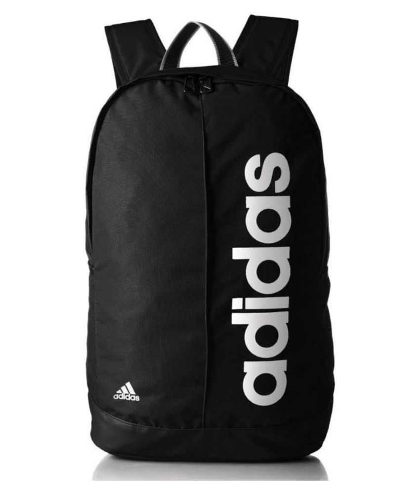 444237f01c Adidas Black Canvas Branded Bags College Bag Backpack Bag Backpacks - Buy  Adidas Black Canvas Branded Bags College Bag Backpack Bag Backpacks Online  at Low ...