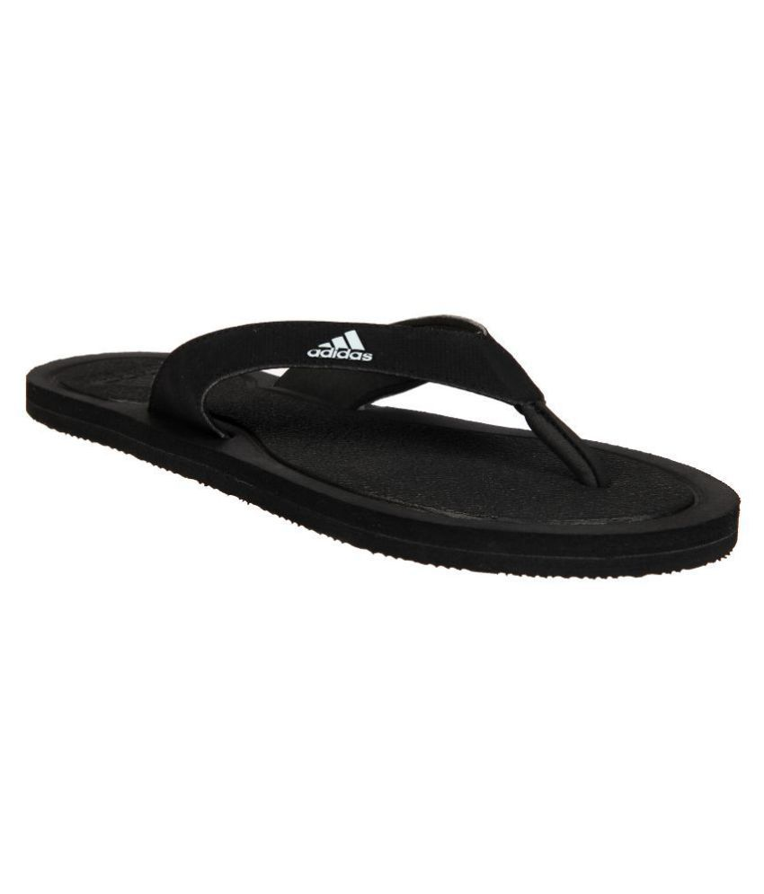 fbf80bae7 Adidas STABILE Black Thong Flip Flop Price in India- Buy Adidas STABILE  Black Thong Flip Flop Online at Snapdeal