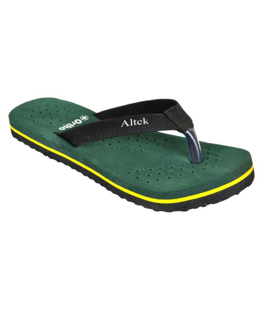 Altek Green Slippers