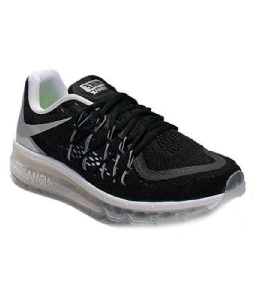 46c7602e31f1 Nike Airmax 2015 White Running Shoes - Buy Nike Airmax 2015 White Running  Shoes Online at Best Prices in India on Snapdeal