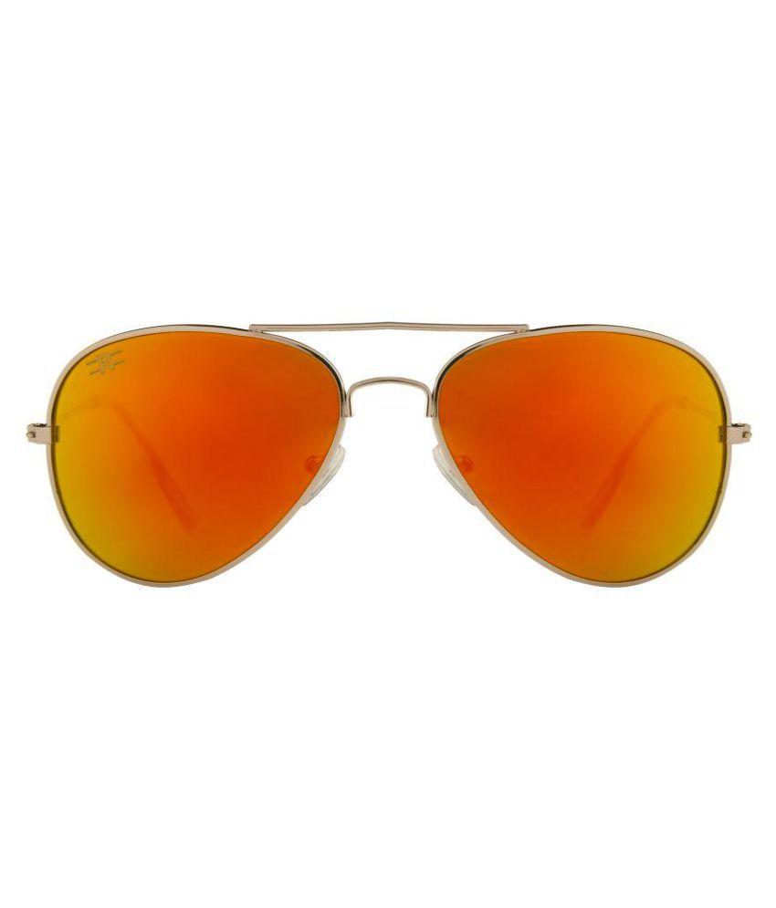 ROZIOR Golden Aviator Sunglasses ( RWUK0909M5 )